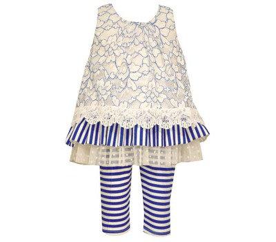 Conjunto de Leggings Azul Royal Bonnie Jean