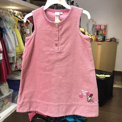 Vestido Rosa Viejo de Minnie Disney