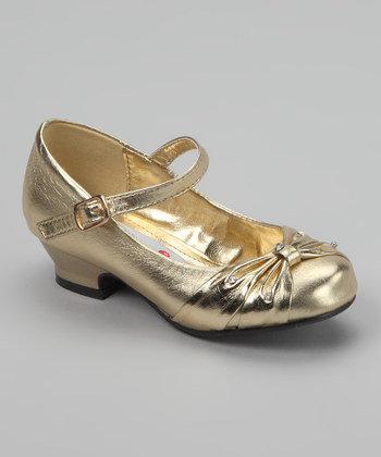 Zapatos Dorado y Plateado Lasonia