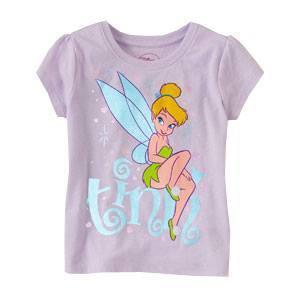Camiseta Lila de Tinkerbell