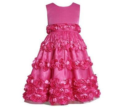 Vestido de Fiesta Rosado Fucsia Bonnie Jean