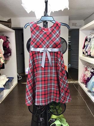 Vestido Estampado de Cuadros Bonnie Jean
