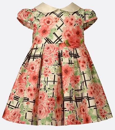 Vestido Estampado Vintage Bonnie Jean