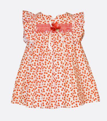 Vestido Estampado de Cherry Bonnie Jean
