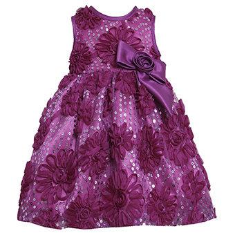 Vestido de Fiesta Morado Bonnie Jean