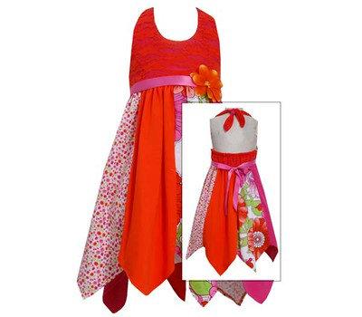 Vestido de Estampado de Flores Bonnie Jean