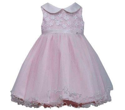 Vestido de Fiesta Rosado Claro Bonnie Jean