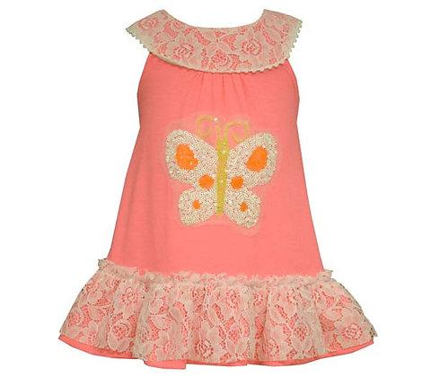 Vestido Fucsia Neón de Bonnie Jean