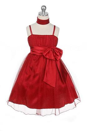 Vestido de Fiesta Rojo My Best Kids