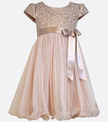Vestido Rosa Viejo de Fiesta Bonnie Jean
