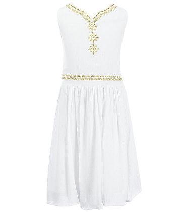 Vestido Blanco Bonnie Jean