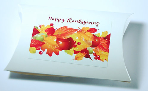 Thanksgiving themed pillow box