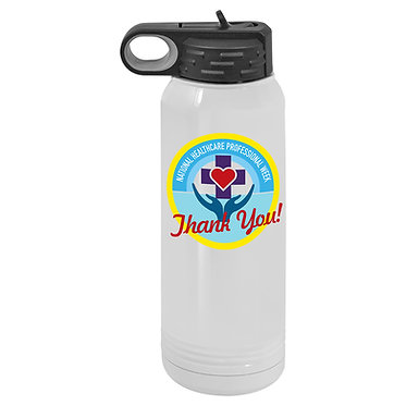 30 oz. insulated water bottle
