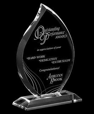 Optical Crystal Flare Award