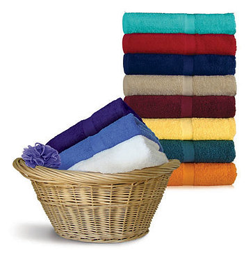 bath towels-embroidered