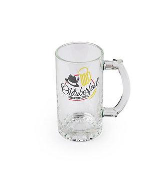 16 oz Glass Beer Mug