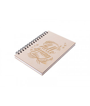 Notebook-maple plywood cover