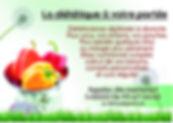 carte de visite diététicienne