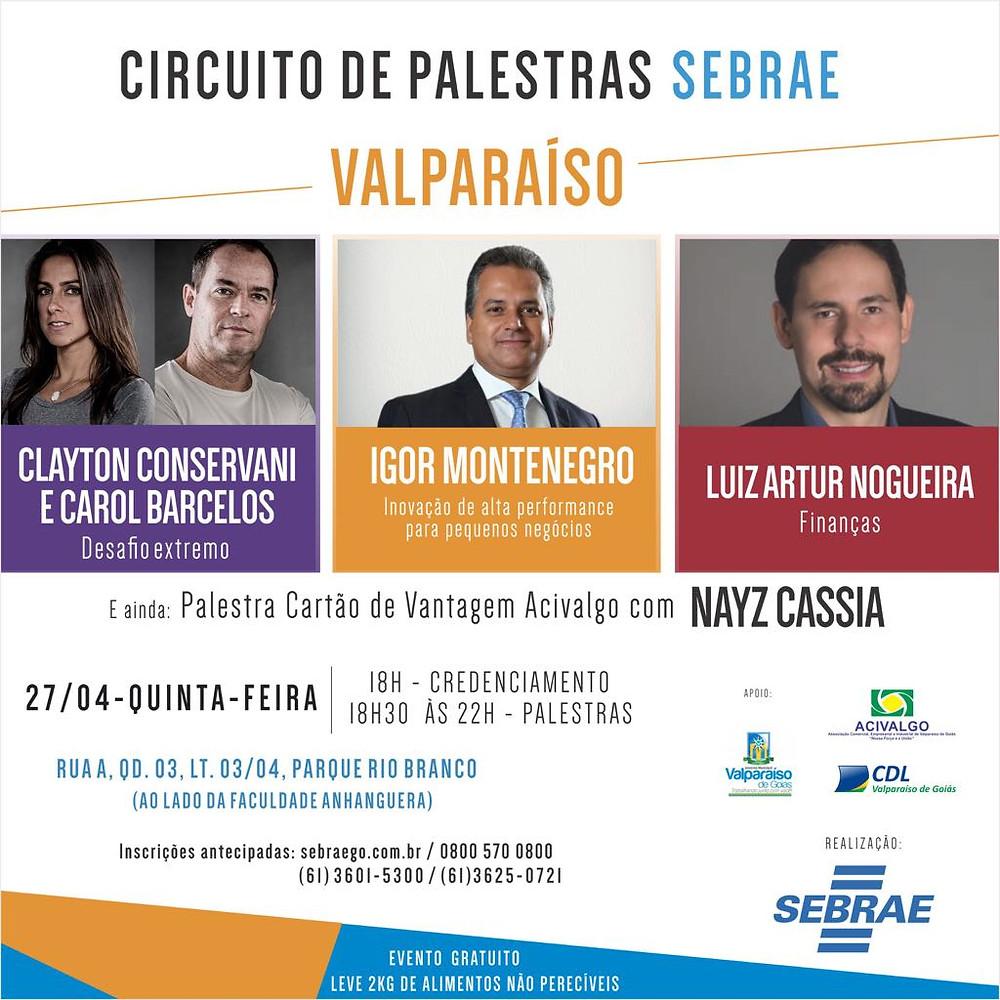 Valparaíso de Goiás - Palestra para empreendedores