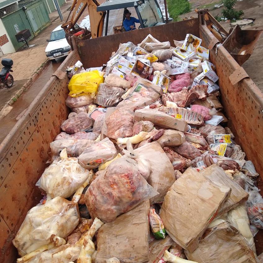 Carne estragada em Supermercados