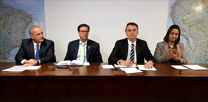 Bolsonaro sugere que senadores da base não tentem mudar decisão da Câmara sobre o Coaf