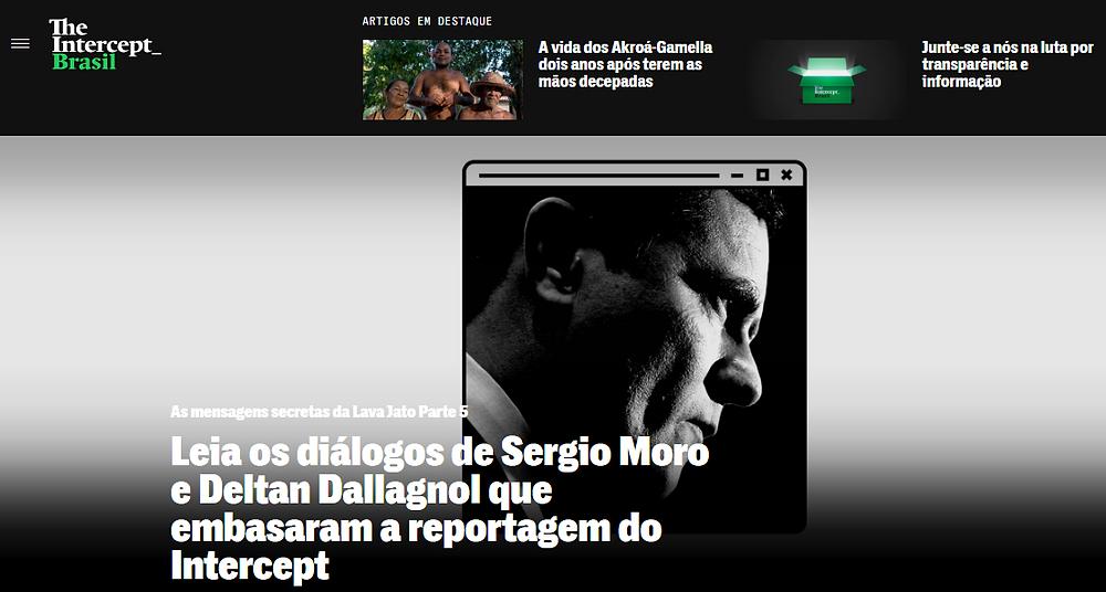 As revelações do The Intercept Brasil passam do ponto e perdem credibilidade