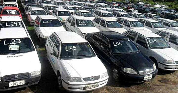 Detran-GO vai leiloar 3.300 carros
