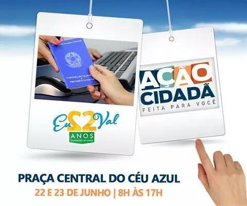 Leda Borges trará programa Ação Cidadã para Valparaíso nos próximos dias 22 e 23 de junho