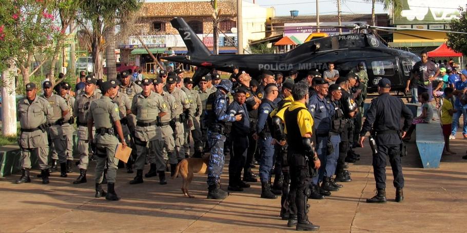 Valparaíso sedia mais uma operação conjunta entre as forças de segurança do estado e do município