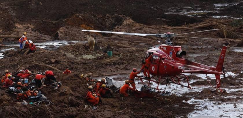 Além de mortos e desaparecidos Brumadinho tem 138 desabrigados