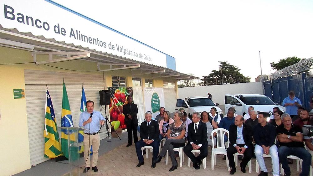 Prefeito Pábio Mossoró inaugura o Banco de Alimentos municipal