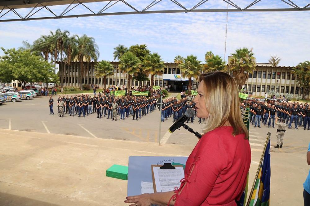 Comando Regional apresenta 245 novos Policiais Militares que vão atuar no Entorno