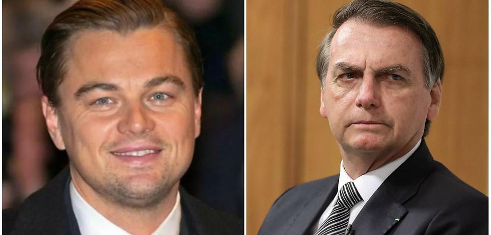 Bolsonaro vira piada e é criticado internacionalmente pelas acusações sem provas feitas contra o ator Leonardo DiCrpaio