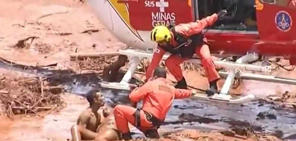 Tragédia de Brumadinho - Estimativa do corpo de bombeiros e do presidente da vale coincidem em 150 desaparecidos