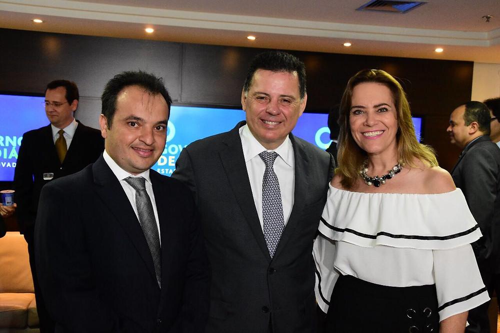 Leda Borges, Pábio Mossoró e Marconi Perillo
