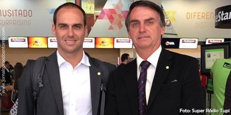 Entrevista aponta que 53% é contra a indicação de Eduardo Bolsonaro para embaixada
