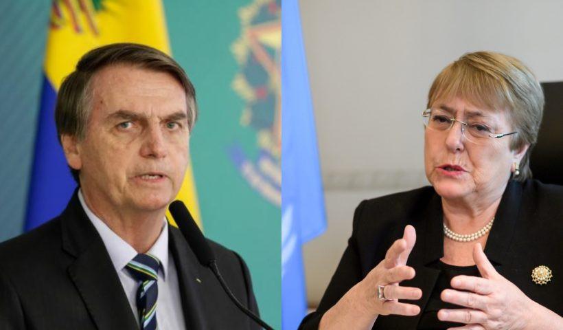 Bolsonaro responde aos comentários de Michelle Bachelet referindo-se à seu pai, torturado e morto pelo regime Pinochet