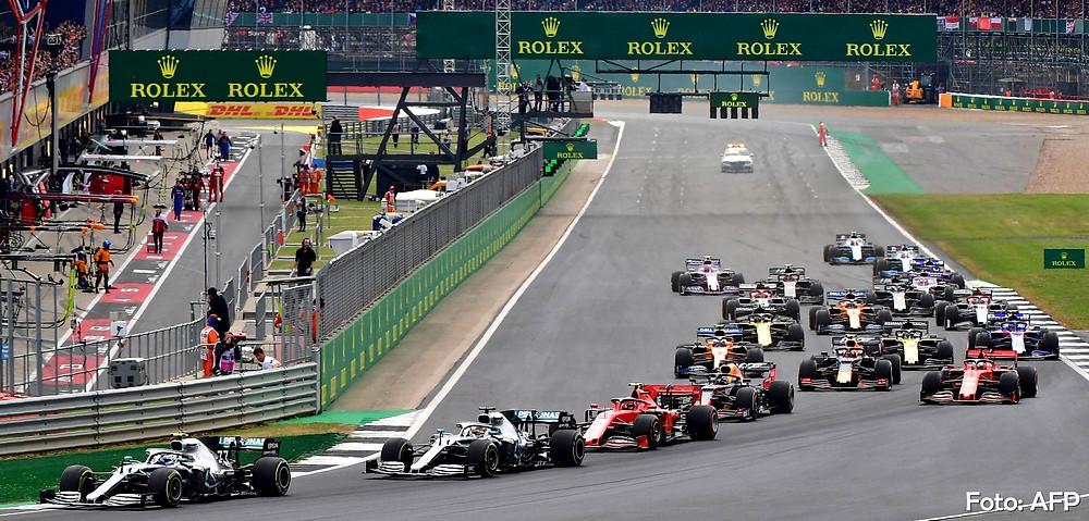 Beneficiado pela entrada do Safety Car, Hamilton vence seu 6º GP da Grã-Bretanha