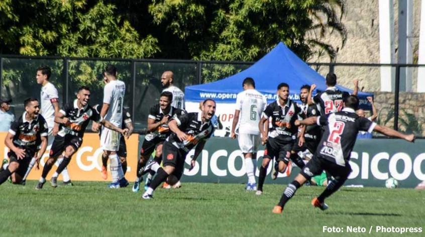Em clássico movimentado, Vasco vence o Fluminense de virada