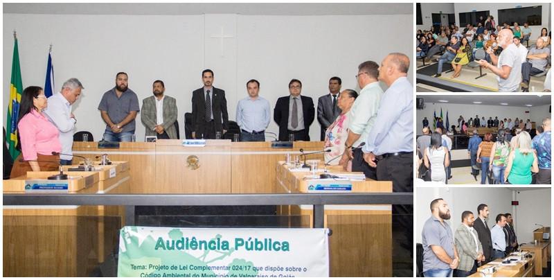 Lei do Meio Ambiente é debatida na Câmara Municipal de Valparaíso