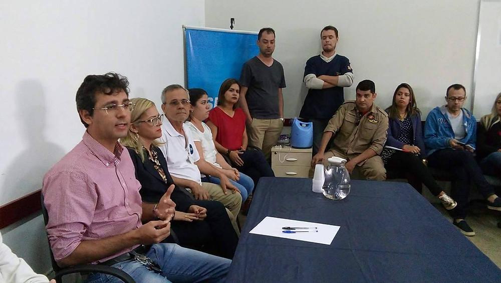 Valparaíso – Secretário de saúde pede empenho redobrado aos líderes das unidades de atendimento