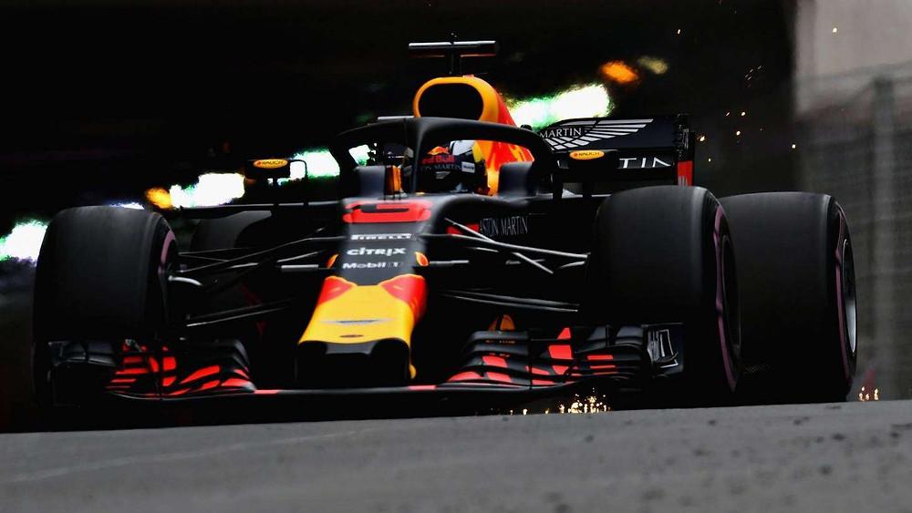 O Grande Prêmio de Mônaco de F1 começa com as Red Bull na frente