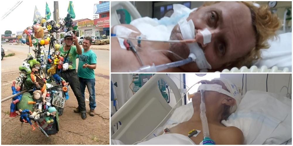 Popular em toda Valparaíso, homem da bicicleta de recicláveis é agredido até quase a morte e está em estado grave