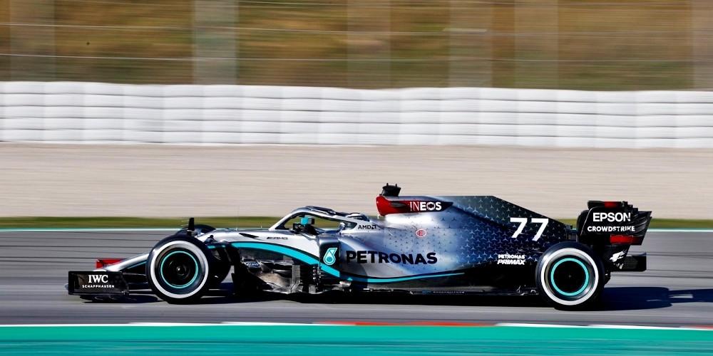 A bordo de sua Mercedes, Bottas é o mais rápido na 1ª semana de testes da F1 em Barcelona