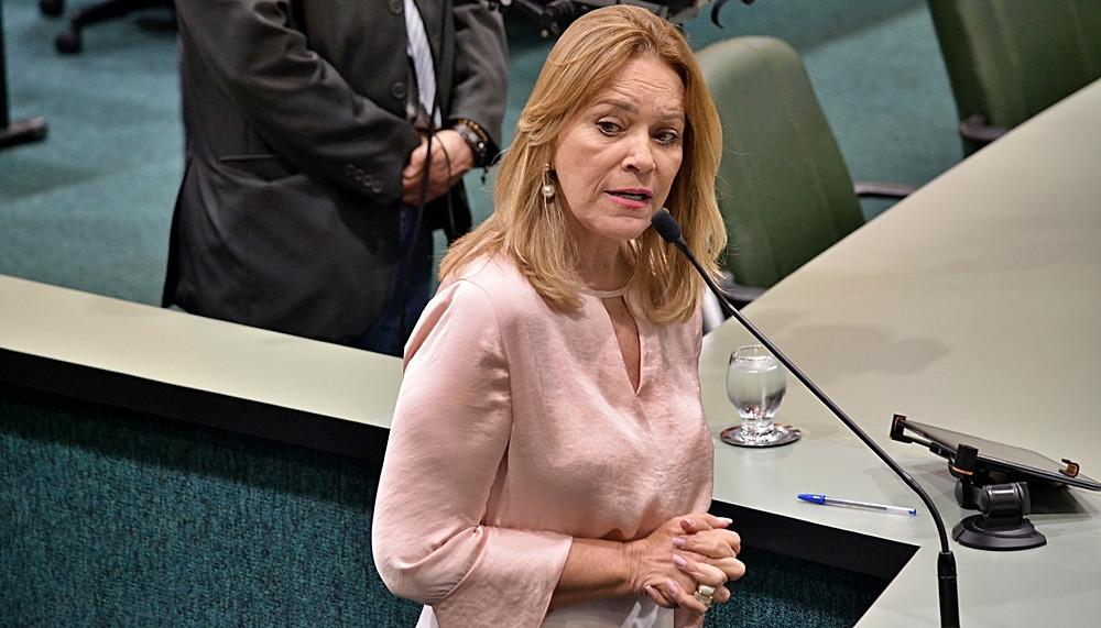 Lêda Borges propõe medidas para garantir segurança nas escolas estaduais de Goiás e uma justa homenagem ao professor Júlio César
