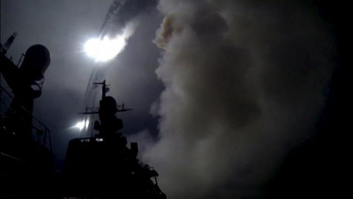 EUA reage de maneira improvável e bombardeia Síria