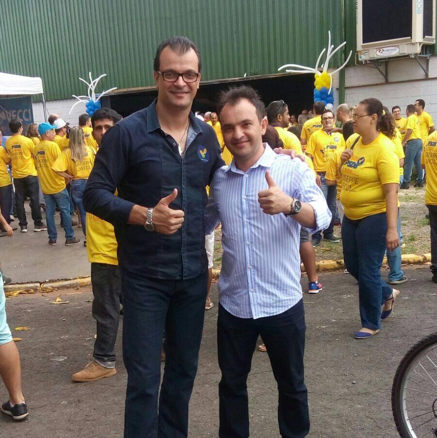 Com meu pré-candidato a prefeito