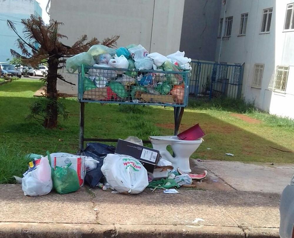 Valparaíso – Coleta de lixo será normalizada até sexta feira