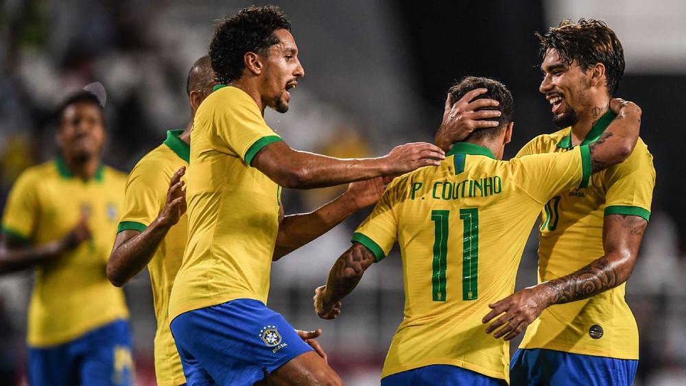 Brasil quebra jejum de 5 partidas e vence a fraca Coreia do Sul