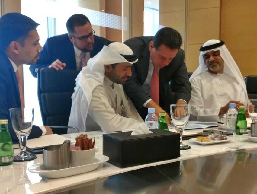 Marconi Perillo em Abu Dhabi 2